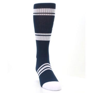 Image of New York Yankees Men's Athletic Crew Socks (side-1-front-03)