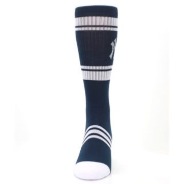 Image of New York Yankees Men's Athletic Crew Socks (front-05)