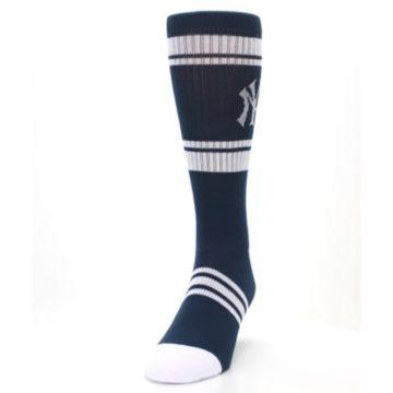 Image of New York Yankees Men's Athletic Crew Socks (side-2-front-06)