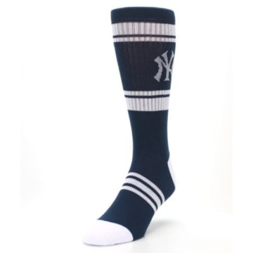 Image of New York Yankees Men's Athletic Crew Socks (side-2-front-07)
