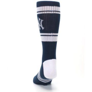 Image of New York Yankees Men's Athletic Crew Socks (back-17)