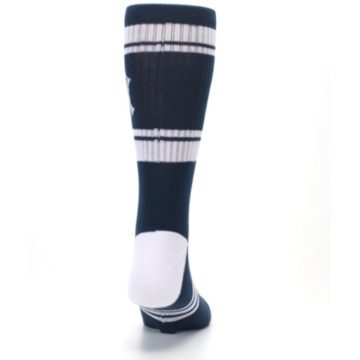 Image of New York Yankees Men's Athletic Crew Socks (back-19)