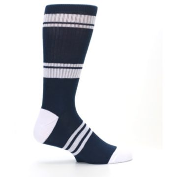 Image of New York Yankees Men's Athletic Crew Socks (side-1-24)