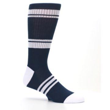 Image of New York Yankees Men's Athletic Crew Socks (side-1-25)