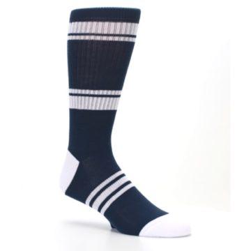 Image of New York Yankees Men's Athletic Crew Socks (side-1-26)