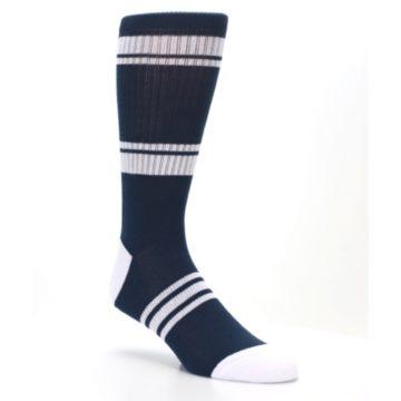 Image of New York Yankees Men's Athletic Crew Socks (side-1-27)