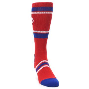 Image of Philadelphia Phillies Men's Athletic Crew Socks (side-1-front-03)