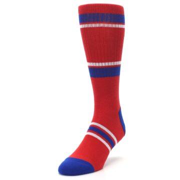 Image of Philadelphia Phillies Men's Athletic Crew Socks (side-2-front-07)