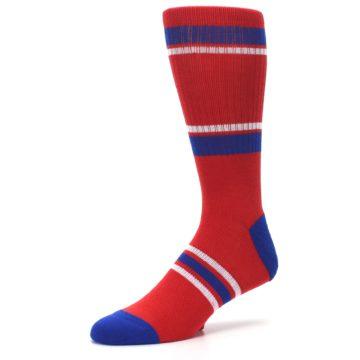 Image of Philadelphia Phillies Men's Athletic Crew Socks (side-2-09)