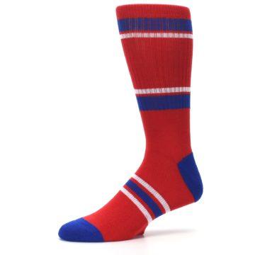Image of Philadelphia Phillies Men's Athletic Crew Socks (side-2-10)