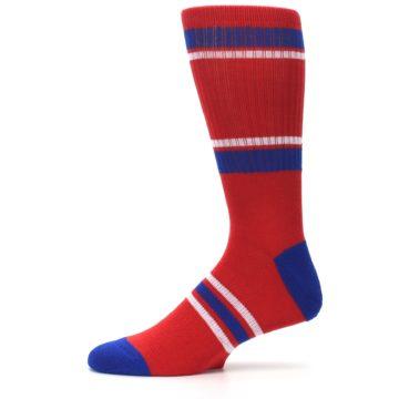 Image of Philadelphia Phillies Men's Athletic Crew Socks (side-2-11)