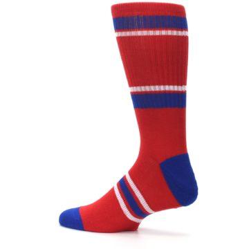 Image of Philadelphia Phillies Men's Athletic Crew Socks (side-2-13)