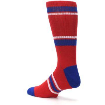 Image of Philadelphia Phillies Men's Athletic Crew Socks (side-2-back-14)