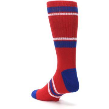 Image of Philadelphia Phillies Men's Athletic Crew Socks (side-2-back-15)