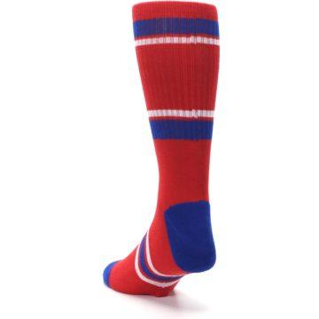 Image of Philadelphia Phillies Men's Athletic Crew Socks (side-2-back-16)