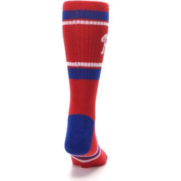 Image of Philadelphia Phillies Men's Athletic Crew Socks (back-19)