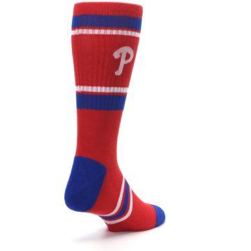 Image of Philadelphia Phillies Men's Athletic Crew Socks (side-1-back-21)
