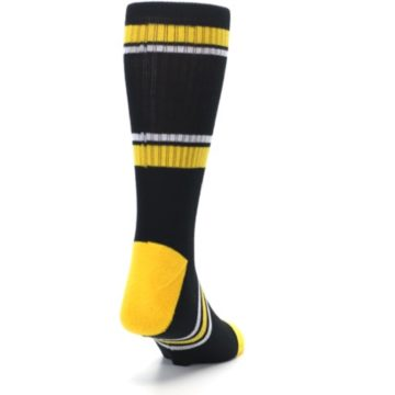 Image of Pittsburgh Pirates Men's Athletic Crew Socks (side-1-back-20)
