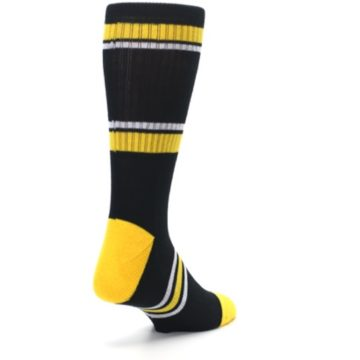 Image of Pittsburgh Pirates Men's Athletic Crew Socks (side-1-back-21)