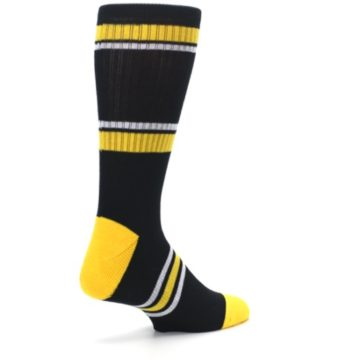 Image of Pittsburgh Pirates Men's Athletic Crew Socks (side-1-back-22)