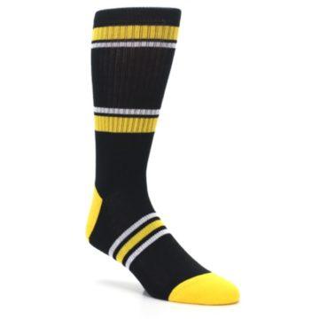 Image of Pittsburgh Pirates Men's Athletic Crew Socks (side-1-27)