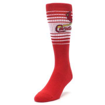 Image of St. Louis Cardinals Men's Athletic Crew Socks (side-2-front-07)