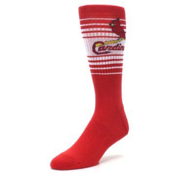 Image of St. Louis Cardinals Men's Athletic Crew Socks (side-2-front-08)
