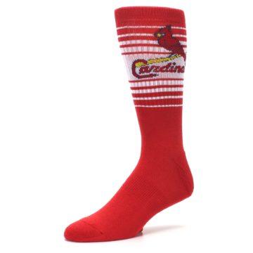 Image of St. Louis Cardinals Men's Athletic Crew Socks (side-2-09)