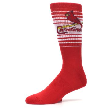 Image of St. Louis Cardinals Men's Athletic Crew Socks (side-2-10)