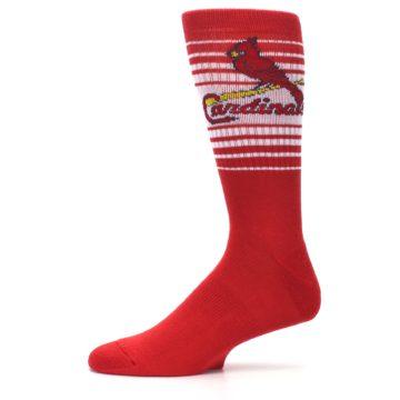 Image of St. Louis Cardinals Men's Athletic Crew Socks (side-2-11)