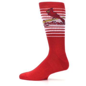 Image of St. Louis Cardinals Men's Athletic Crew Socks (side-2-12)