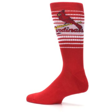 Image of St. Louis Cardinals Men's Athletic Crew Socks (side-2-13)