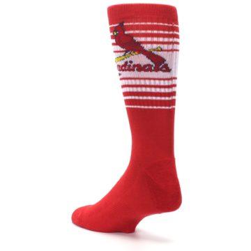 Image of St. Louis Cardinals Men's Athletic Crew Socks (side-2-back-15)