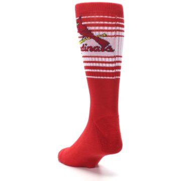 Image of St. Louis Cardinals Men's Athletic Crew Socks (side-2-back-16)