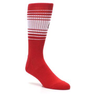 Image of St. Louis Cardinals Men's Athletic Crew Socks (side-1-27)