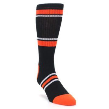 Image of San Francisco Giants Men's Athletic Crew Socks (side-1-front-02)