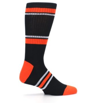 Image of San Francisco Giants Men's Athletic Crew Socks (side-1-24)
