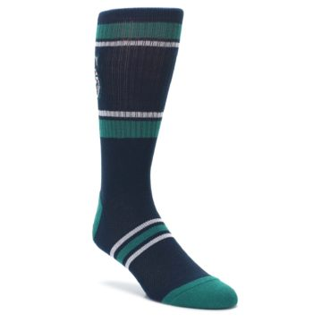 Seattle-Mariners-Mens-Athletic-Crew-Socks-PKWY