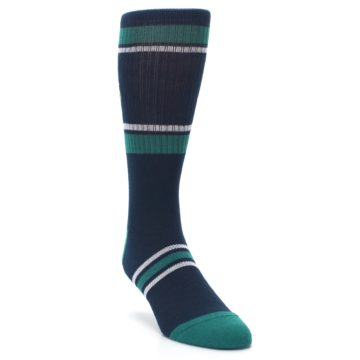 Image of Seattle Mariners Men's Athletic Crew Socks (side-1-front-02)