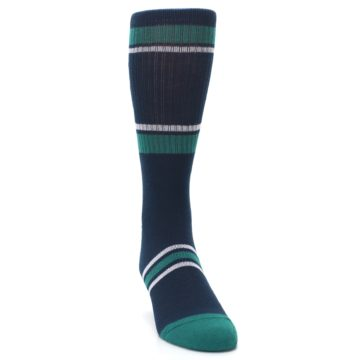 Image of Seattle Mariners Men's Athletic Crew Socks (side-1-front-03)