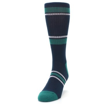 Image of Seattle Mariners Men's Athletic Crew Socks (side-2-front-06)