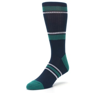 Image of Seattle Mariners Men's Athletic Crew Socks (side-2-front-08)
