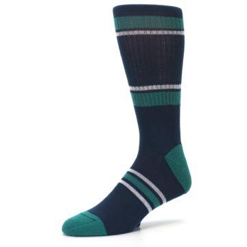 Image of Seattle Mariners Men's Athletic Crew Socks (side-2-09)