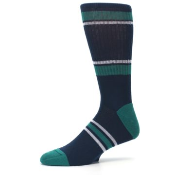 Image of Seattle Mariners Men's Athletic Crew Socks (side-2-10)