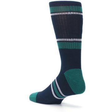 Image of Seattle Mariners Men's Athletic Crew Socks (side-2-back-14)
