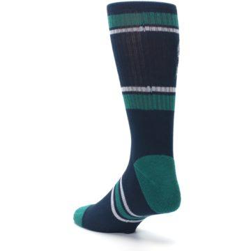 Image of Seattle Mariners Men's Athletic Crew Socks (side-2-back-15)