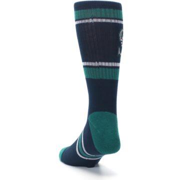 Image of Seattle Mariners Men's Athletic Crew Socks (side-2-back-16)