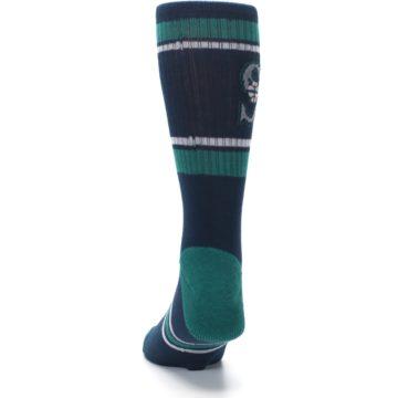 Image of Seattle Mariners Men's Athletic Crew Socks (back-17)