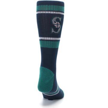 Image of Seattle Mariners Men's Athletic Crew Socks (back-19)