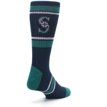 Image of Seattle Mariners Men's Athletic Crew Socks (side-1-back-21)